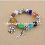 Elementos artesanales con Multicolor pulseras de cordón (PB-011).