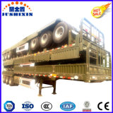 대량 Cargo & Container Side Board 또는 Side Wall/Fence/Sidewall 3 Axles Semi Trailer