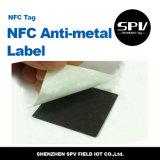 De Markering F08 ISO14443A van het anti-Metaal van het Huisdier van Nfc 13.56MHz HF