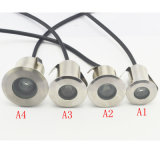 1W White Color IP68 Waterproof Aluminum 12V LED Deck Light
