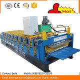 Folha de telhado metálico máquina de formação de rolos de Dupla Camada