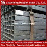 Fluss-Stahl-Quadrat-Rohr mit verschiedenen Größen
