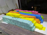 Geel van de Kleur Blad 1220*2440*3mm Dichtheid 0.60 van het pvc- Schuim
