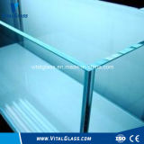 Ultra Clear Float Glass / Temperd Fire Proof Vidro / Colorido Vidro Laminado