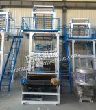 HDPE/LDPE escogen la máquina del rodaje de películas plástica del tornillo