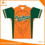 Healong völlig sublimierte freies Beispielmann-Baseball-Uniform