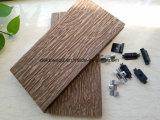 Красивые смотреть WPC декорированных плата пластмассовые деревянные полы с УФ