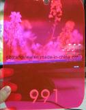 En fonte rouge fluorescente feuille acrylique pour la publicité et de décoration