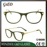 De nouvelles lunettes de gros d'acétate de verres optiques Lunettes Frame