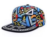 Snapback impreso colorido de la insignia de encargo, casquillo del deporte, casquillo del ocio en varia talla, material y diseño