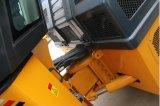 Maquinaria vibratoria del camino del tambor doble hidráulico lleno de 10 toneladas (JM810H)