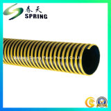 Type neuf ridé par aspiration flexible de tuyau de PVC et durcir le boyau d'aspiration de l'eau de PVC