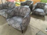 Cadeira de couro Waxy, cadeira de Europa, cadeira de couro do sofá (Y035)