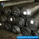 Commerce de gros de tissu noir PP Limon barrière de clôture
