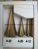 La flauta de acero de alta velocidad 2 taladros de paso