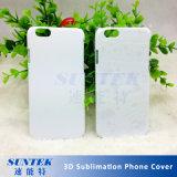 Caisse en plastique blanc de téléphone de sublimation employant pour la machine de presse de la chaleur