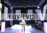 LED-faseverlichting voor video/vision-curtain, 4 x 6 m.