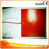 Verwarmer van het Stootkussen van het silicone de Rubber Flexibele Elektrische