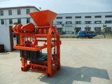 Qtj4-40A máquina semi-automática de bloco de concreto que faz