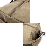 Sacchetti casuali di fine settimana di corsa della tela di canapa di corsa della borsa casuale dello zaino