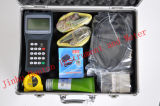 Un jeu d'ordinateur de poche Le Débitmètre à ultrasons pour mesurer le liquide