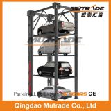 Four Post Hydraulic Triple, Quad Car Stacker