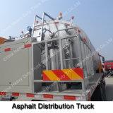 camion de réservoir de transport de l'asphalte 8000L/camion de réservoir Heated liquide de bitume