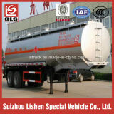 35cbm 2-as Roestvrij staal Oil Fuel Tank Semi Trailer