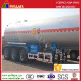 Eje 3 50cbm tanque de gasolina del depósito de gas portador remolque semi