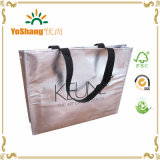 Laser metallico Coating Non Woven Eco Bag di Silver o di Gold