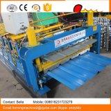 Metalldach-Blatt-doppelte Schicht-Rolle, die Maschine bildet