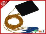 1X16 Blockless PLC Planar Lightwave divisor del circuito de FBT