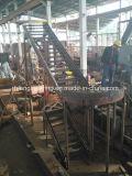 Escalera de acero para el edificio