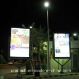 Street Pole Publicidad exterior LED Banner Light Box