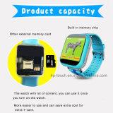 """最も新しい1.54の""""多彩なタッチ画面の子供GPSの腕時計(D19)"""