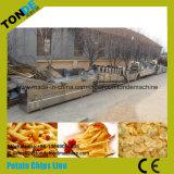 Linha de produção totalmente automática de chips de batata
