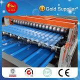 L'acier chaud de couleur de ventes couvre de tuiles le panneau de toit de panneau de mur formant la machine