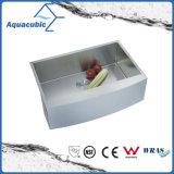 Fait à la main avec évier de cuisine Undermount drainer (ACS3021A1Q)