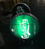 Anúncio da cerveja Billboard LED Sign for Advertising