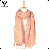 Пряжи петли размера зимы женщин теплый держа шарф типа большой ретро этнический
