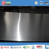 Tisco, feuille initiale d'acier inoxydable de Baosteel avec le certificat de GV d'OIN