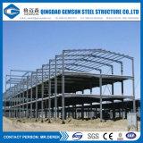 Almacén de la estructura de acero utilizado prefabricados