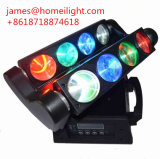 RGBW Spiderbeam LED Iluminación de 8*10W luz Cabezal movible /DMX araña de luces móviles