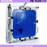 Indicador de diodo emissor de luz Rental dos anúncios video internos da cor P4 cheia