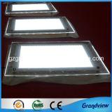 10mm épais super LED lumineux du panneau du châssis de cristal (GV-CLB)