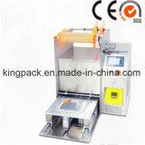 Máquina modificada para requisitos particulares dimensión de una variable especial de escritorio Semi-Auto de la máquina del sellador de la bandeja