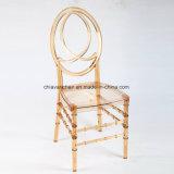 家具のプラスチックアクリル樹脂のフェニックスの無限椅子をスタックする黒い屋外の結婚式のホテル党