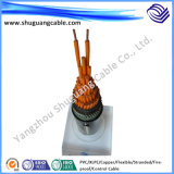 Maak/Kabel Flexible/XLPE Insulated/PVC Sheathed/Control vuurvast