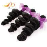 Tessuto allentato dei capelli umani dell'onda dei capelli cambogiani non trattati del Virgin