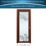 Китайским двери Dedecorative поставщика классическим прикрепленные на петлях алюминием для нутряного украшения ванной комнаты